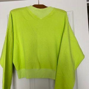 Wilfred Katy cropped sweatshirt